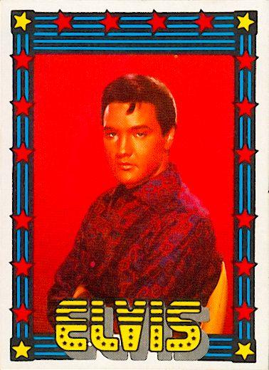 Elvis The 1978 Monty Gum Trading Cards