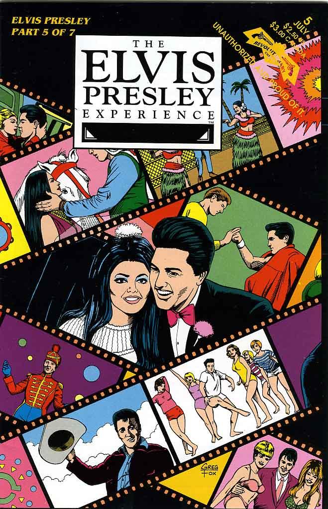 Elvis Comics - The Elv...