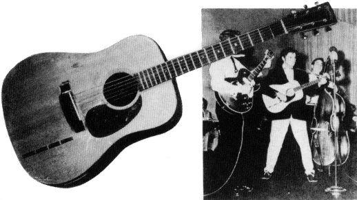 elvis guitars