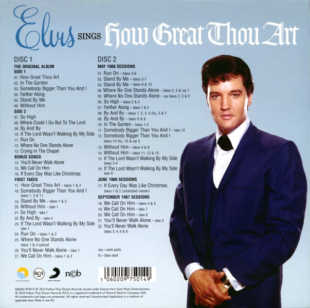 CD How Great Thou Art FTD 506020-975014